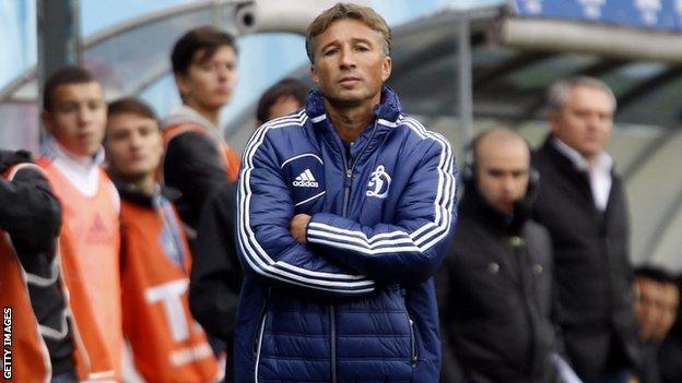 Dan Petrescu at Dynamo Moscow