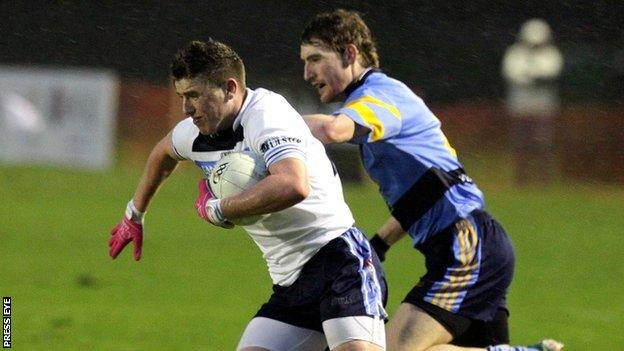 Sigerson Cup semi-final action