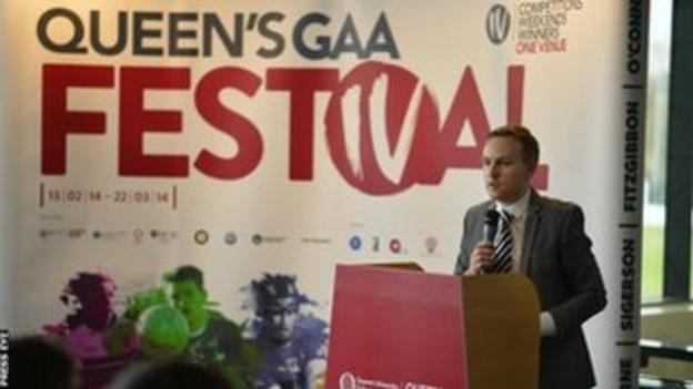 The Sigerson Cup finals will be played as part of the Queen's GAA Festival