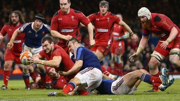 Six nations 2014 wales 27 6 france bbc sport - English rugby union league tables ...