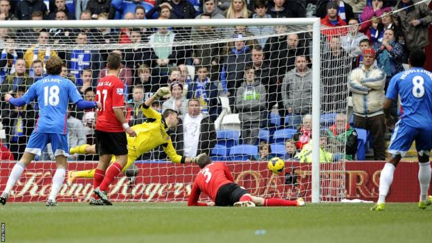 Tom Huddlestone's deflected shot gives Hull the lead away to Cardiff