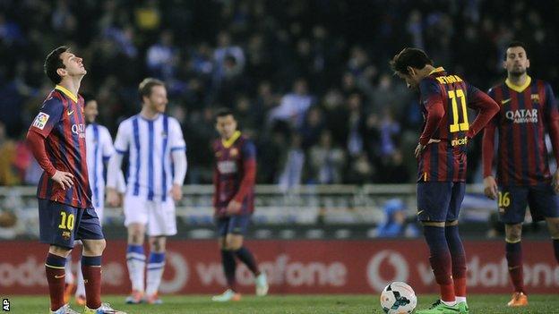 Real Sociedad v Barcelona