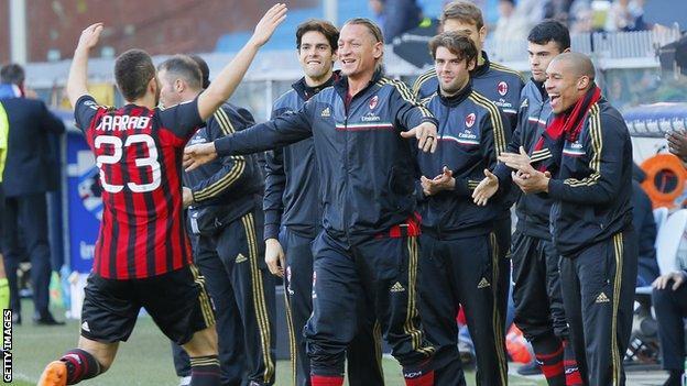 Adel Taarabt celebrates his goal