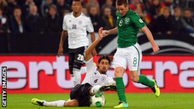 The Republic of Ireland's James McCarthy was born in Glasgow