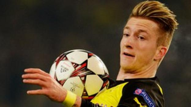 Borussia Dortmund forward Marco Reus