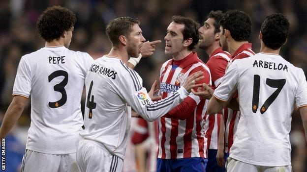 Atletico Madrid v Real Madrid
