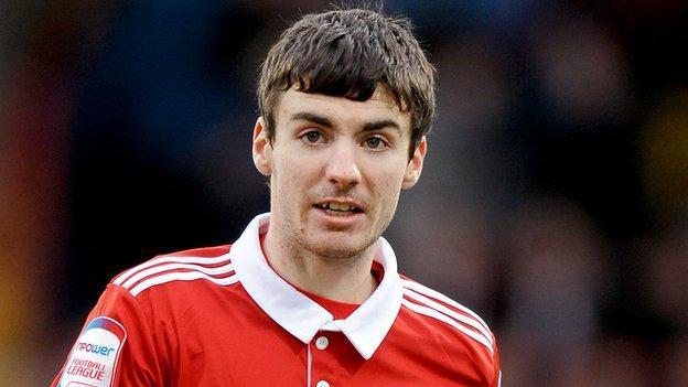 Middlesbrough winger Cameron Park