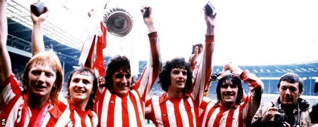 Sunderland celebrate