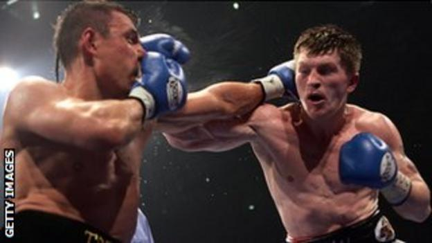 Ricky Hatton beat Kostya Tszyu in front of his home crowd in 2005