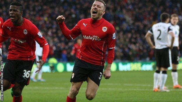 Striker Craig Bellamy