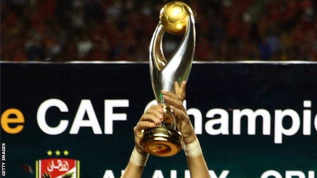 African Champions League Trophy