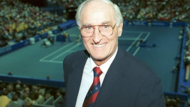 Former Bbc Commentator John Barrett Enters Tennis Hall Of