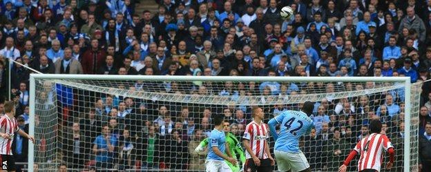 Yaya Toure scored a spectacular equaliser for Manchester City.