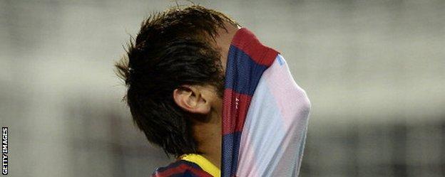 Barcelona's Neymar