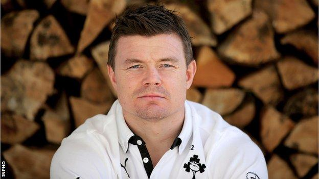 Ireland rugby legend Brian O'Driscoll is looking forward to his last home test against Italy