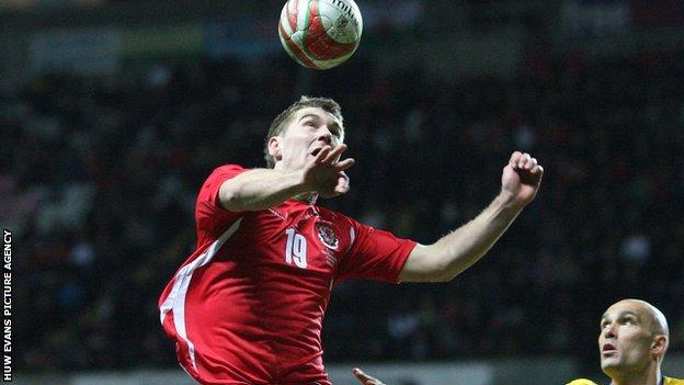 Sam Vokes Wales