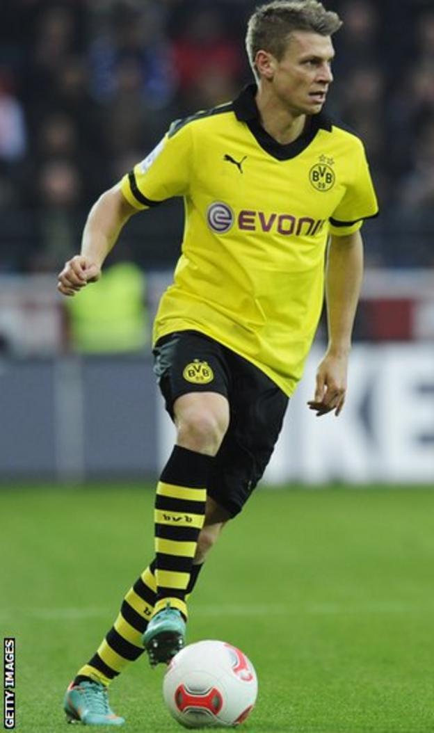 Borussia Dortmund full-back Lukasz Piszcek