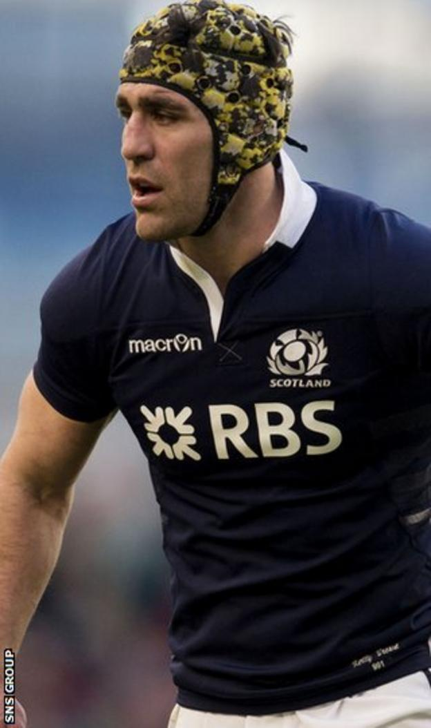 Kelly Brown will lead Scotland against France at Murrayfield