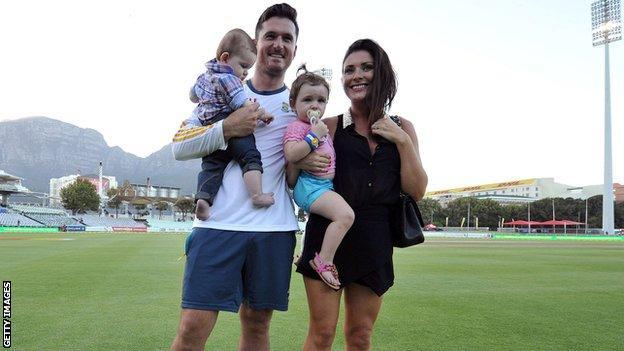 Graeme Smith and his family