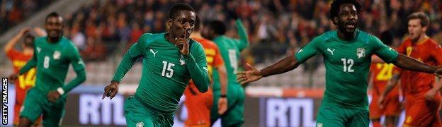 Belgium v Ivory Coast
