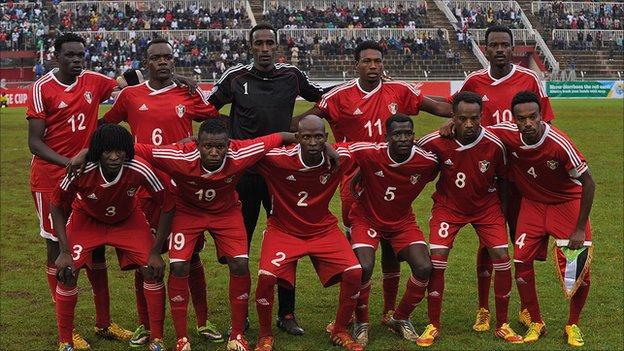 Sudan squad