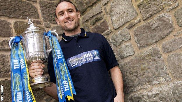 St Johnstone midfielder Lee Croft