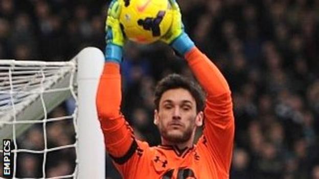 Tottenham goalkeeper Hugo Lloris