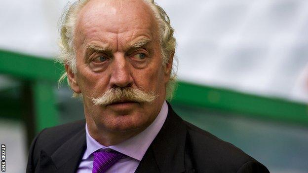Celtic's majority shareholder Dermot Desmond