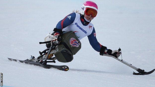 Anna Turney of Paralympics GB