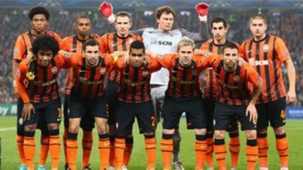 Shakhtar Donetsk team