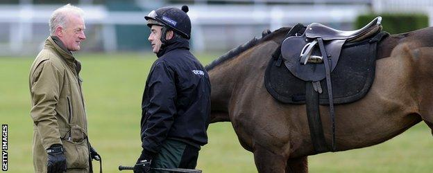 Willie Mullins and Ruby Walsh are hot favourites to be top jockey and top trainer respectively