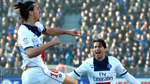 Bastia 0-3 Paris St-Germain