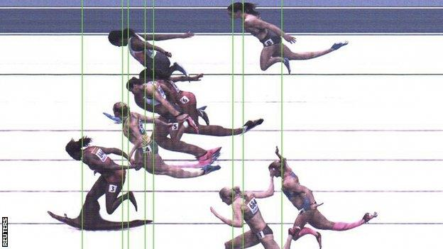 Porter, second from top, was edged out of second place by Pearson, fifth from top