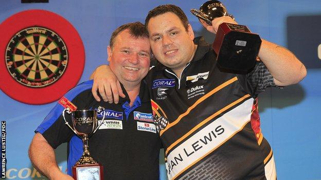 Terry Jenkins and Adrian Lewis