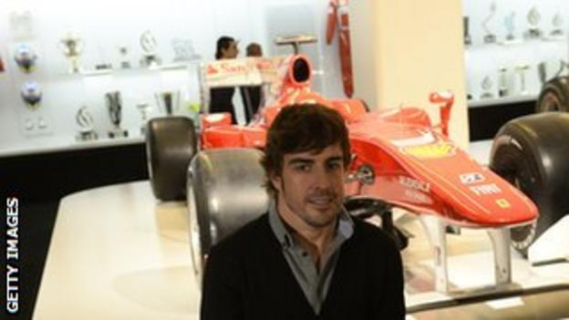 Two-time F1 champion Fernando Alonso