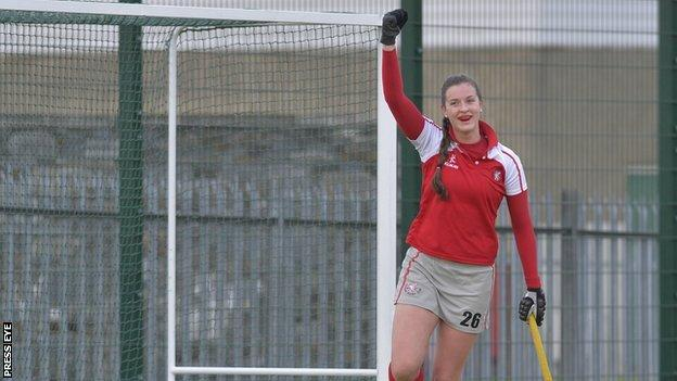 Vanessa Surgenor scored a hat-trick