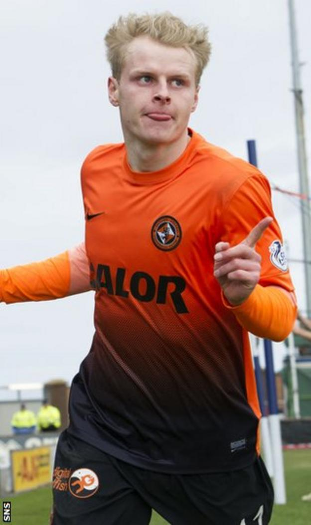 Dundee United's Gary Mackay-Steven