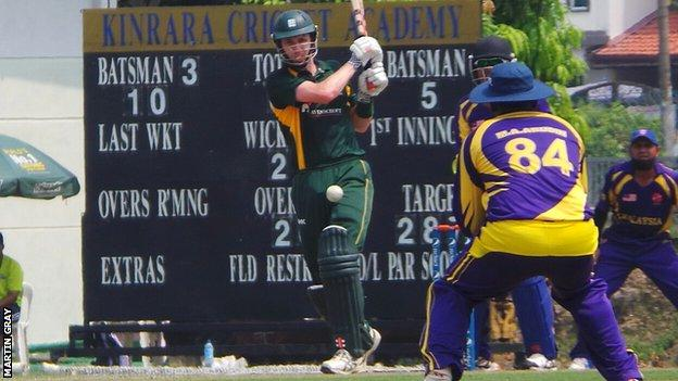 Guernsey in action in Malaysia