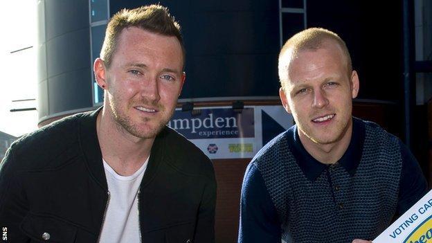 Aiden McGeady and Steven Naismith
