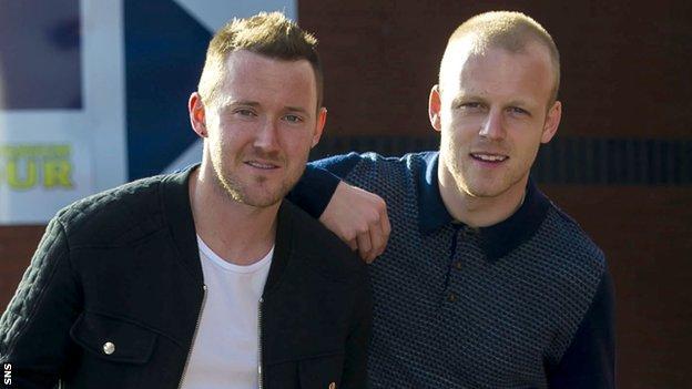 Steven Naismith (right) and Aiden McGeady