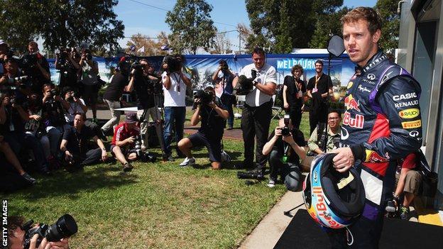 Formula 1 arrives in Melbourne for start of 2014 season