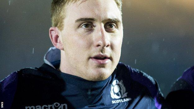 Dougie Fife will make his Scotland debut