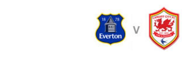 Everton v Cardiff