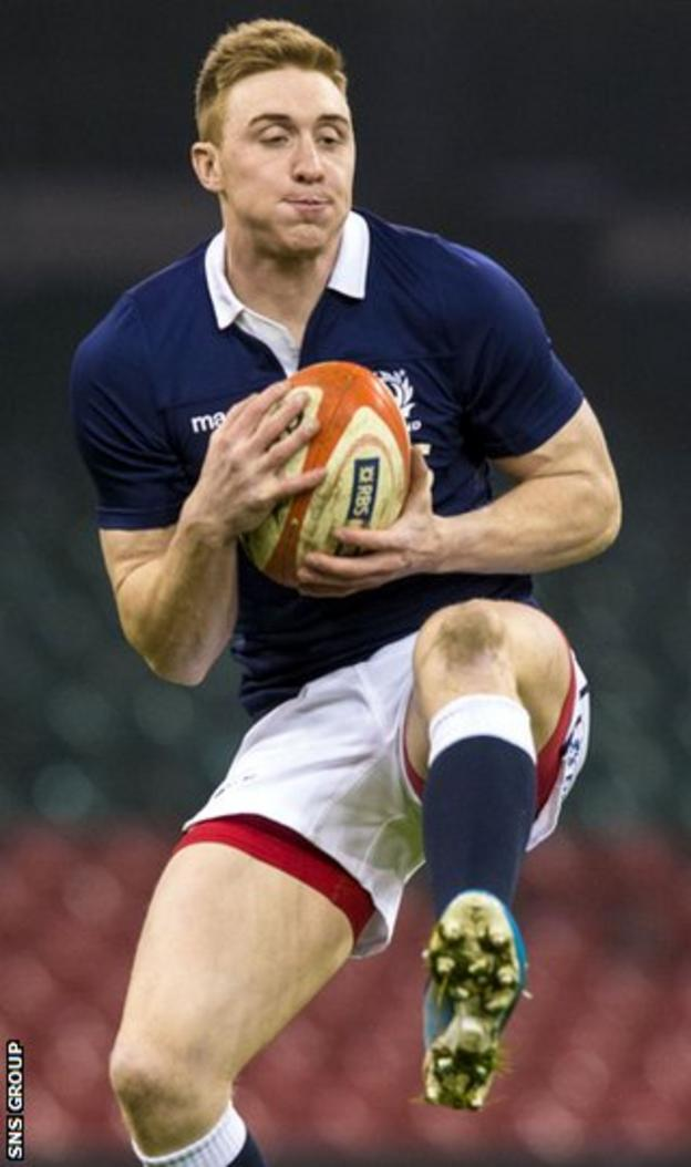 Scotland winger Dougie Fife