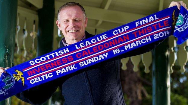 Inverness manager John Hughes