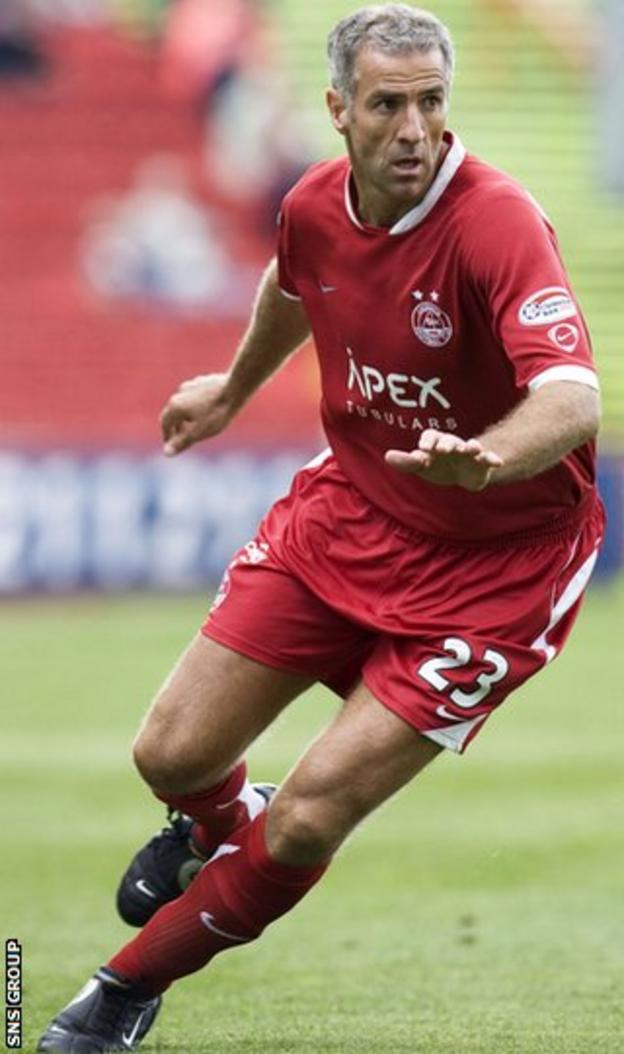 Craig Brewster played for Aberdeen and had two spells as manager at Caley Thistle