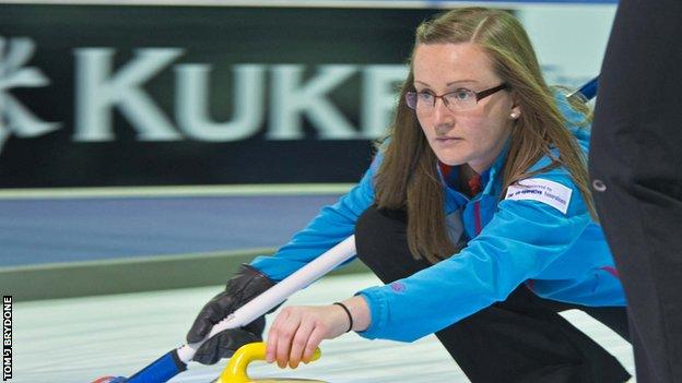 Skip Kerry Barr will lead Scotland at the World Curling Championships in Canada.