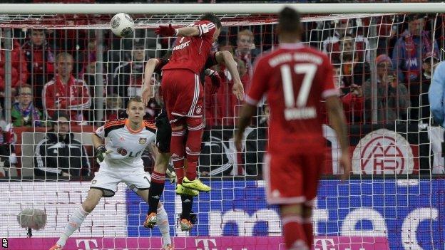 Bayern's Mario Mandzukic