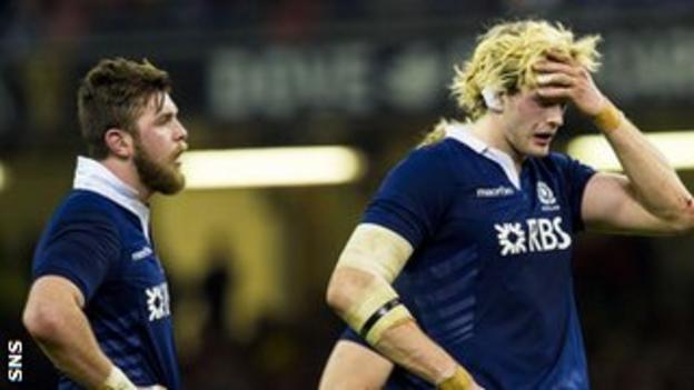 Scotland forward Richie Gray