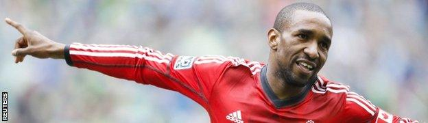 Toronto striker Jermain Defoe